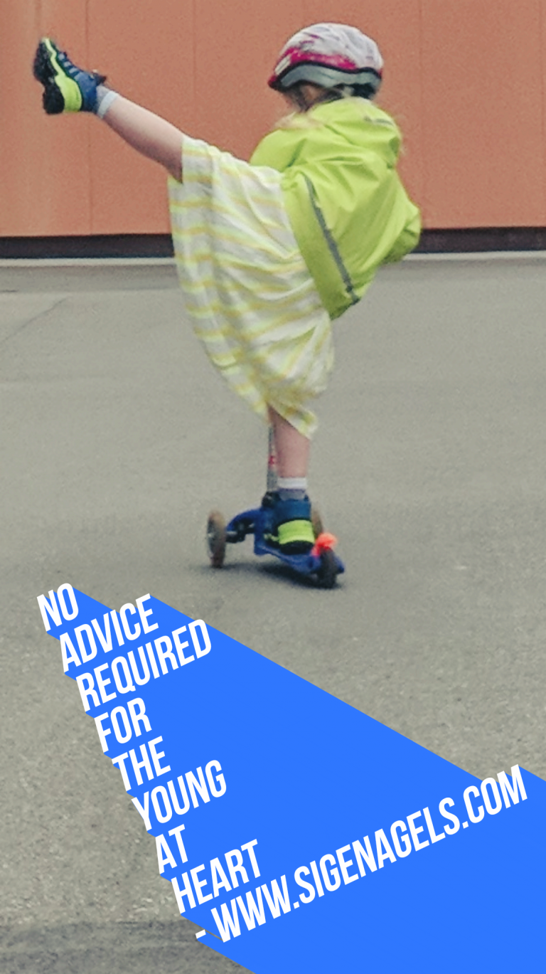 No advice required for the young at heart
