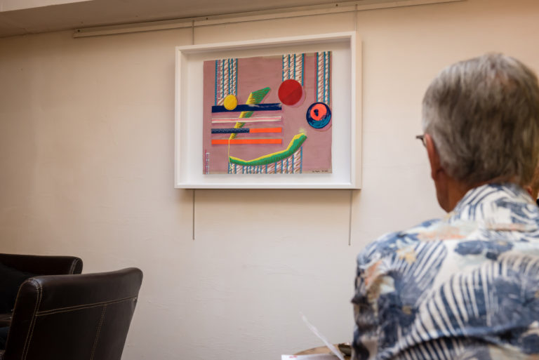 Object framed artwork: Let my art surround you, experience and enjoy!