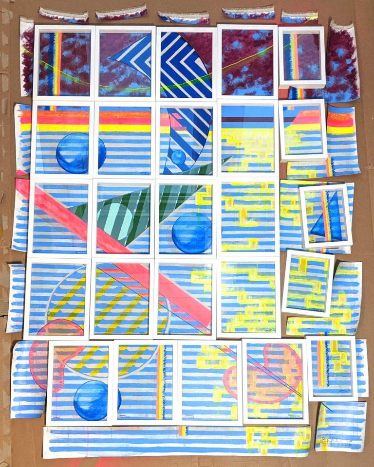 Kunstsammler, auchtung: 25 Malereien – Kunstserie: Hoi Zäme!